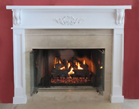 charred_oak_gas_log_set - Fireplace Repair, Service, Installation, Gas Fireplaces,Long